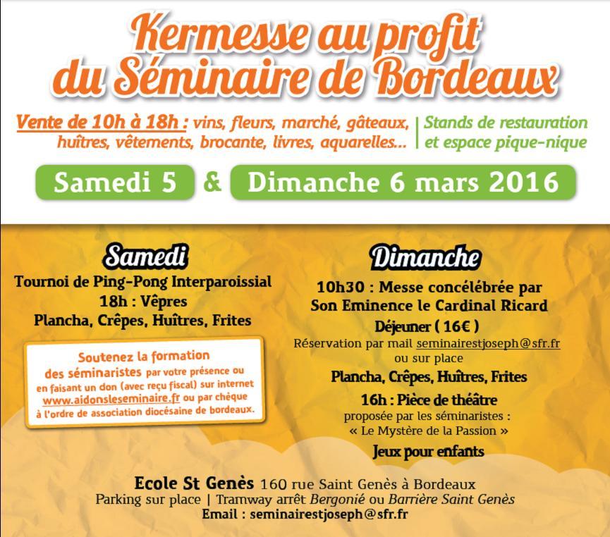 Kermesse 2016 - Informations