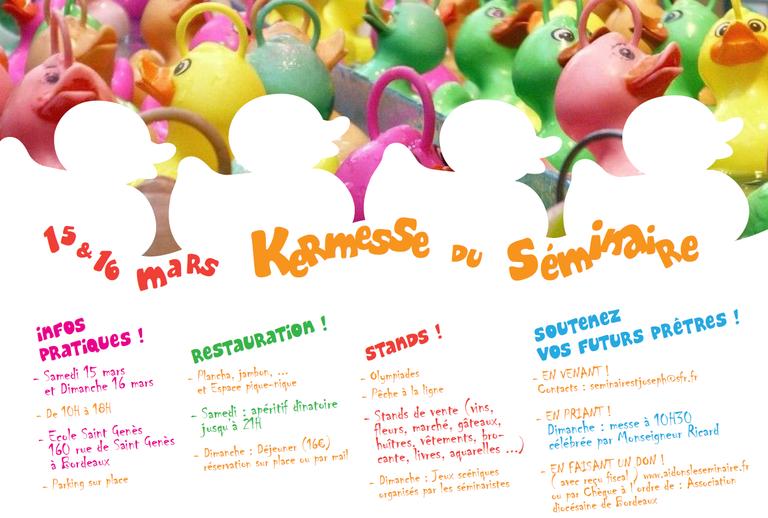 kermesse seminaire 2014
