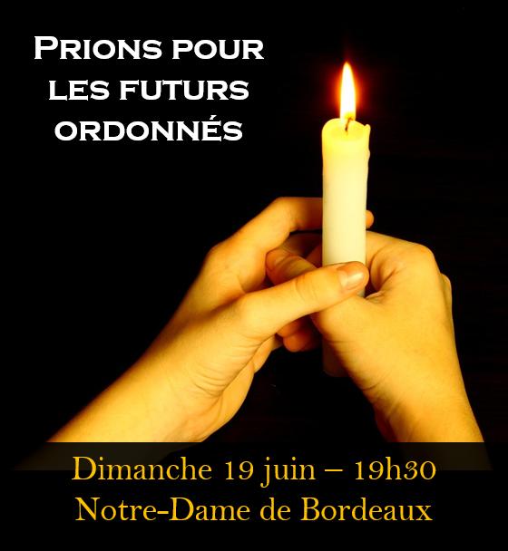 Ordinations 2016 - Veillée de prière