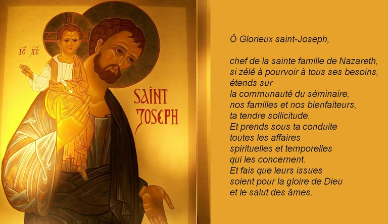 st Joseph prière