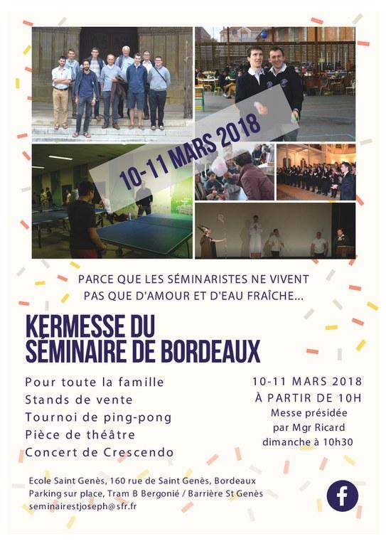 Affiche kermesse 2018 Recto